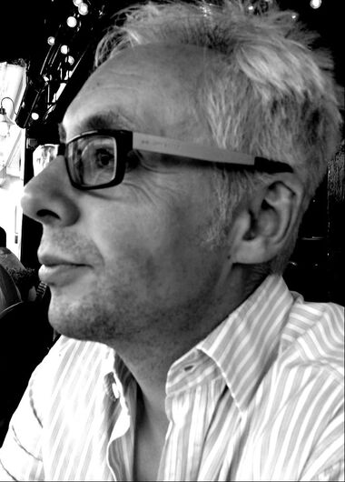 Ian Critchley, author, playwright and book reviewer for the Sunday Times
