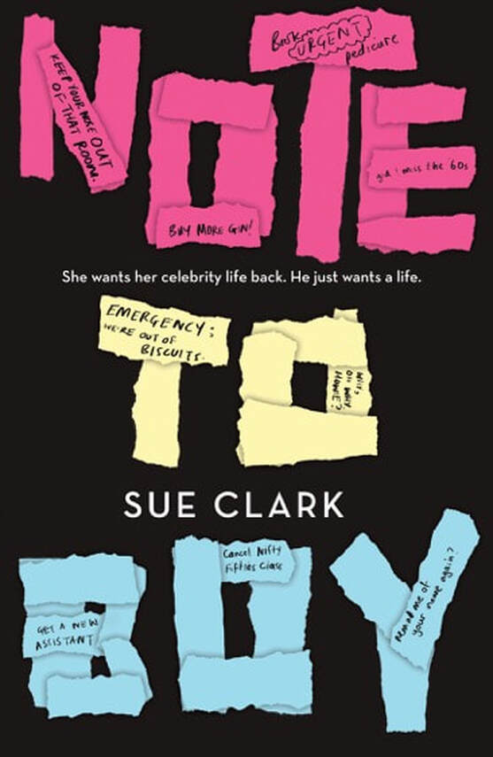 Note to Boy by Sue Clark